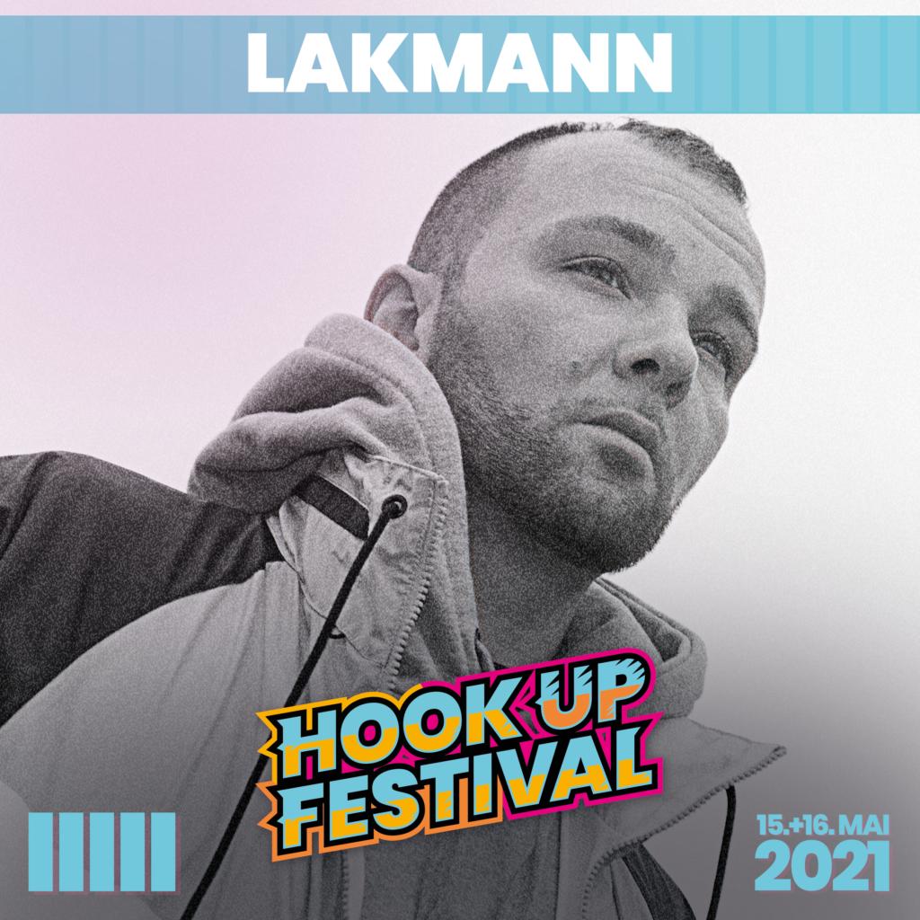 LAKMANN HOOK UP FESTIVAL 2021 KARLSRUHE